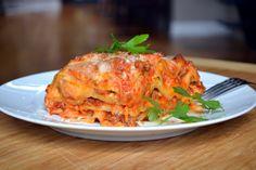 Crockpot Lasagna with ricotta