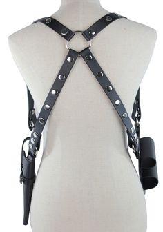 Harley Quinn Gun Holster Harness Set - costumebase