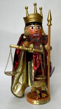 Steinbach Biblical Nutcracker Series King Solomon Nutcracker by Steinbach, http://www.amazon.com/dp/B00AN8RYHG/ref=cm_sw_r_pi_dp_R5OZqb0Y3V93Z