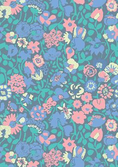 FLOWERS. by Eleonora Cargnel, via Behance