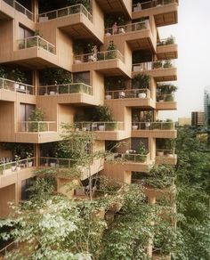 Gallery of Penda Designs Modular Timber Tower Inspired by Habitat 67 for Toronto - 10