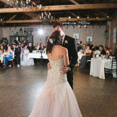 #sayyestothedress with a blush tint. #weddingdress #thedress #thevenue #thevenuebrides