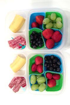 Quick and easy school lunch ideas via whatlisacooks.com