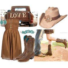 Brown Country Dresses Bridesmaid
