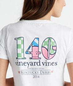 Kentucky Derby Whale 140 Pocket Tee