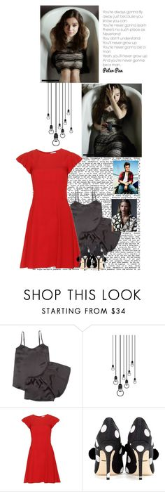 """""""Bradley: Miles Story"""" by followyourbliss ❤ liked on Polyvore featuring Law of Sleep, RED Valentino, Dolce&Gabbana and Gabriella"""