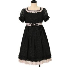 Worldwide shipping available ♪ Innocent World ☆ ·. . · ° ☆ embossed dot dress…
