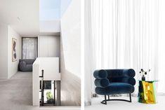 Brighton Residence I Skylight, Brighton, Interior Inspiration, Interior Architecture, Curtains, Studio, Armchairs, Design, Houses