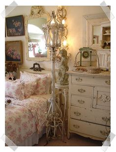 Paris Couture Antiques- Room Makeover by Alys Geertsen, via Flickr