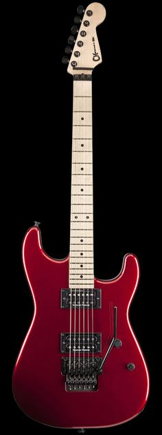 CHARVEL San Dimas Style 1 HH Maple Neck Electric Guitar (Candy Apple Red) | Reverb
