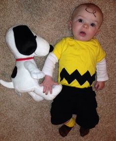 Charlie Brown costume for your little peanut.