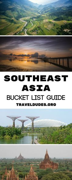 A bucket list guide to 10 destinations in Southeast Asia that you absolutely have to add to your travel or backpacking route! From Pai in Thailand to Sapa in Vietnam, don't miss these hidden gems in Southeast Asia.    TravelDudes Travel Community