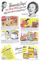 Johnson's Wax 1945 Ad Picture