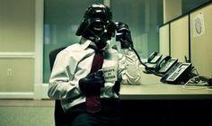 Office Vader - http://www.dravenstales.ch/office-vader/