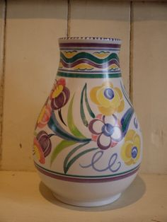 Large Vase - Poole Pottery circa 1950s by VintiqueTree on Etsy