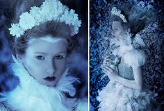 Photographer Daniela Majic Creates Magical Garden Backgrounds In Her Attic