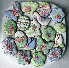 Easter cookie set