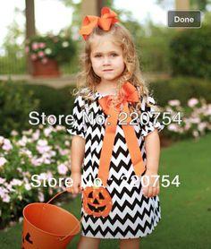 $13.86 (Buy here: https://alitems.com/g/1e8d114494ebda23ff8b16525dc3e8/?i=5&ulp=https%3A%2F%2Fwww.aliexpress.com%2Fitem%2FNew-arrival-Latest-Halloween-chevron-dress-for-children-Black-White-Chevron-Dress-with-orange-Pumpink-for%2F1087432975.html ) New arrival! Latest Halloween chevron dress for children,Black White Chevron Dress with orange  Pumpkin for baby girl for just $13.86