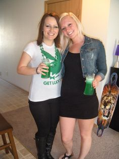 Me & April on St. Patrick's Day!