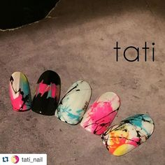Create with ease and perfection with tati Brushes. The most highly demanded brush that was handcrafted just for gel and gel nail ar… Water Nail Art, Gel Nail Art, Colorful Nail Designs, Gel Nail Designs, Graffiti Nails, Sculpted Gel Nails, Tribal Nails, Japanese Nail Art, Manicure Y Pedicure