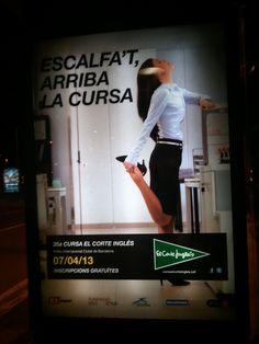 Todos a Correr - Publicidad Cursa el corte ingés 2013 Fitbit, Travel, Advertising, Voyage, Trips, Traveling, Destinations, Tourism
