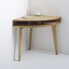 Industrial Style Furniture, Vintage Furniture, Home Furniture, Solid Oak Desk, Under Desk Storage, Desk With Drawers, Interior Design Living Room, Home Furnishings, Space Saving