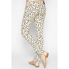 bcbgeneration: jasper skinny pant in cashmere/black combo. $98.00