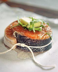 Salmon en Papillote with Tarragon (via http://Luxefinds.com)