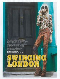 Swinging London (Vanity Fair Italy)