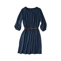 This little piece caught my eye because of the belt and buttons down the front. Pair this with a tank, couple unbuttoned buttons, with some printed tights, and your favorite heels. Perfect night out, trendy not trashy!
