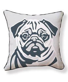 8902fc4304734 Pug Pillow  zulilyfinds Dog Lover Gifts