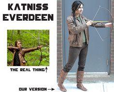 Katniss #costume #DIY #Halloween
