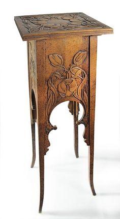 Great new art muebles 17 Ideas Art Nouveau Interior, Art Nouveau Furniture, Art Nouveau Architecture, Art Nouveau Design, Victorian Furniture, Unique Furniture, Vintage Furniture, Diy Furniture, Furniture Design