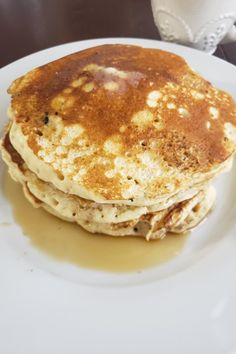 Old-Fashioned Pancakes Recipe Old Fashioned Pancake Recipe, Best Pancake Recipe, Breakfast Dishes, Breakfast Recipes, Recipe Directions, No Cook Desserts, Pancakes And Waffles, Food Trends, Vegetarian Cooking