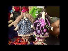 How to make (sew) the textile doll Tilda. Diy. Handmade