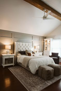 Master Bedroom Retreat, Neutral Bedroom, Gray Bedroom, Neutral Bedroom Ideas, Neutral Bedroom With A