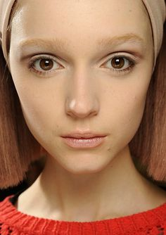 Matte Skin with Chocolate Creases at Marc Jacobs A/W '14 | Makeup For LifeMakeup For Life