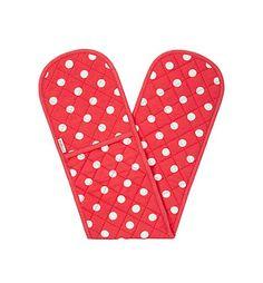 Image result for red and white polka dot oven gloves cath kidston