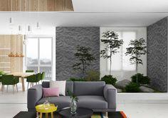 Casinha colorida: O uso de luminárias pendentes nas salas de estar