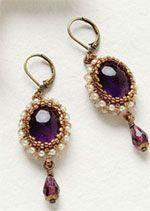 Royal Amethyst Earrings