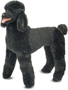 Amazing!!!  Not sure what Onyx and Brooke would think of this...  Standard Poodle - Plush Dog by Melissa & Doug, http://www.amazon.com/dp/B00BRL0VSW/ref=cm_sw_r_pi_dp_lZByrb1M707WN