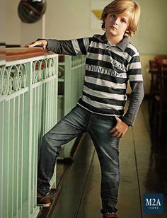 M2A Jeans | Fall Winter 2014 | Kids Collection | Outono Inverno 2014 | Coleção Infantil | calça jeans infantil masculina; look infantil; vintage; calça jeans infantil feminina; denim kids.