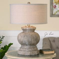 """Found it at Wayfair - Verdello 26.5"""" H Table Lamp with Drum Shade"""