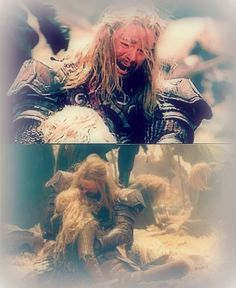 Eomer and Eowyn-- saddest moment of all movies. Thanks be to Karl Urban's fantastic acting skills!!