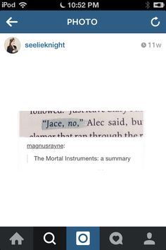 "It's different variations of the same thing: ""Jace, no."" ""Jace HELL no!"" ""Jace stop."" ""No, Jace! Bad Jace!"""