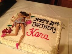 Danielle, I'll do this for your 21st! :D And 27 other funny cakes