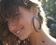 15 Wooden Hoop Earrings Https Etsy Listing