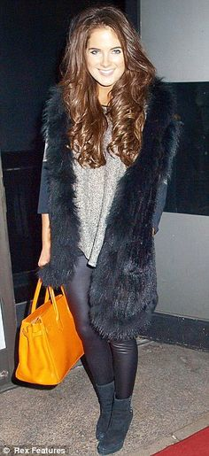Winter - Come at Me! Binky Felstead - Made in Chelsea! Unique Fashion, Boho Fashion, Fashion Outfits, Made In Chelsea Binky, Winter Chic, Winter Style, A 17, Boho Chic, Fall Outfits