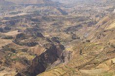 Le Canyon de Colca, Pérou  Photo @ Rachel Nkoto