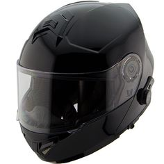 415a1aa6 Hawk H7000 Gloss Black Dual-Visor Modular Motorcycle Helmet w/ Blinc  Bluetooth #HAWK